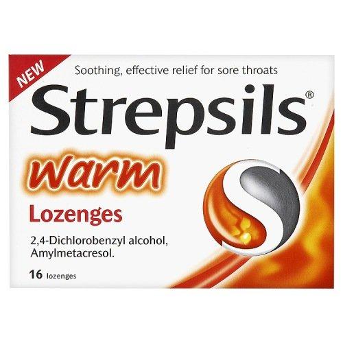 Dettol Strepsils Warm 16's Lozenges