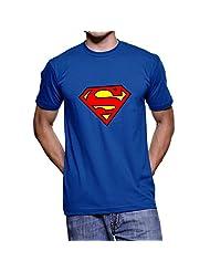 Fanideaz Printed Round Neck Superman T Shirts For Men