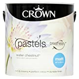 Crown Breatheasy Emulsion Paint - Matt - Water Chesnutt - 2.5L