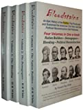 img - for Bloodstains, An Epic History of the Politics that Produced and Sustained the American Civil War and the Political Reconstruction that Followed, Set of 4 Volumes book / textbook / text book