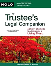 Trustee s Legal Companion The A Step by Step Guide to by Liza Hanks Attorney