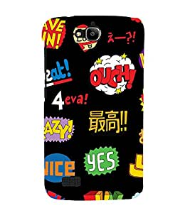 printtech Cool Quotes Funky Back Case Cover for Huawei Honor Holly