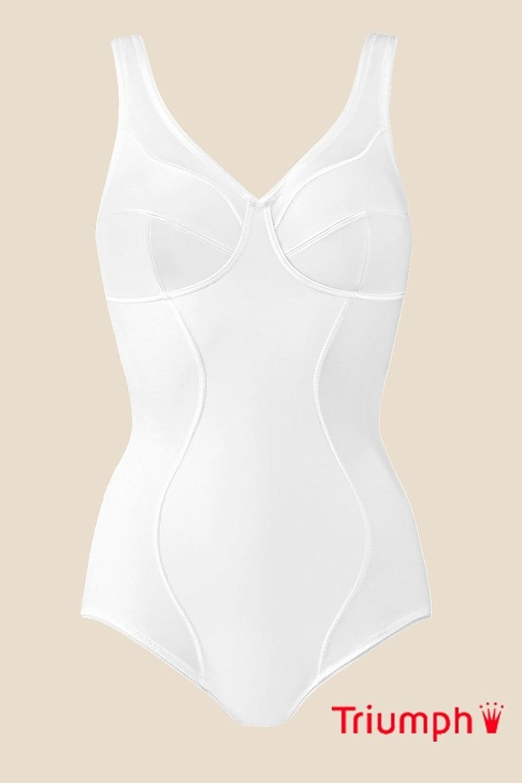 TRIUMPH Damen Body (ohne Bügel) Relaxana BS, Weiß (White (03)), Gr. 90D online kaufen