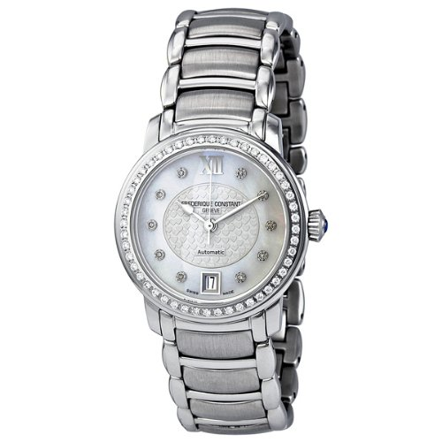 Frederique Constant Mother of Pearl Dial Diamond Ladies Watch 303WHDZPD6B