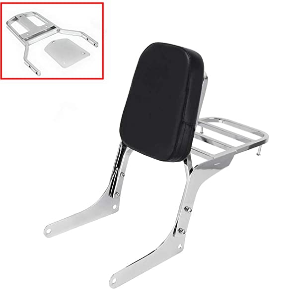 Promise Faster Heavt-Duty Detachable Sissy Bar Backrest for Harley Sportster XL XLH 883 1200 48 Forty Eight Iron 883 Seventy Two