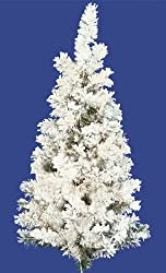 3' Flocked Alaskan Artificial Christmas Wall Tree - Unlit