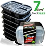 Bento Lunch Box Containers Food Porti...