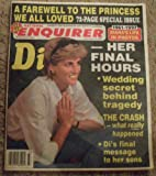 img - for The National Enquirer September 16, 1997 (single issue magazine) A Farewell to the Princess we all Loved (72 page special issued 1961-1997 Princess Diana's Life in Photos) book / textbook / text book