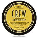 American Crew - Crème Modelante pour Cheveux - Fixation Forte et Brillance Moyene - Modeling Clay - 85ml
