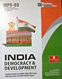 MPS-003 India: Democrasy and Develoment