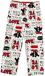 Disney Mickey and Minnie Mouse Women's I Love You Sleep Lounge Pants
