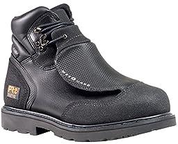 Timberland PRO Men\'s 40000 Met Guard 6\' Steel Toe Boot,Black/Black,10.5 M