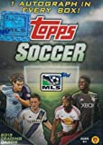 2013 Topps MLS Major League Soccer Factory Sealed Retail Box with 8 Foil Packs and Original Authentic Topps MLS Autograph Card