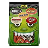 Hersheys Snack Size Assortment, 210 Count Bag