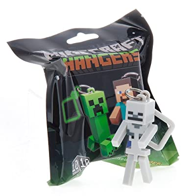 Official Minecraft Exclusive Skeleton Toy Action Figure Hanger from U.C.C. / MOJANG