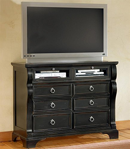 Black Bureau Dresser front-598846