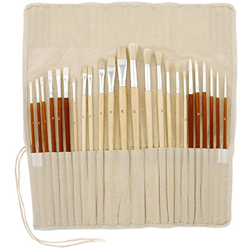 us-art-supply-24-piece-oil-acrylic-paint-long-handle-artist-paint-brush-set-with-canvas-roll-up-stor
