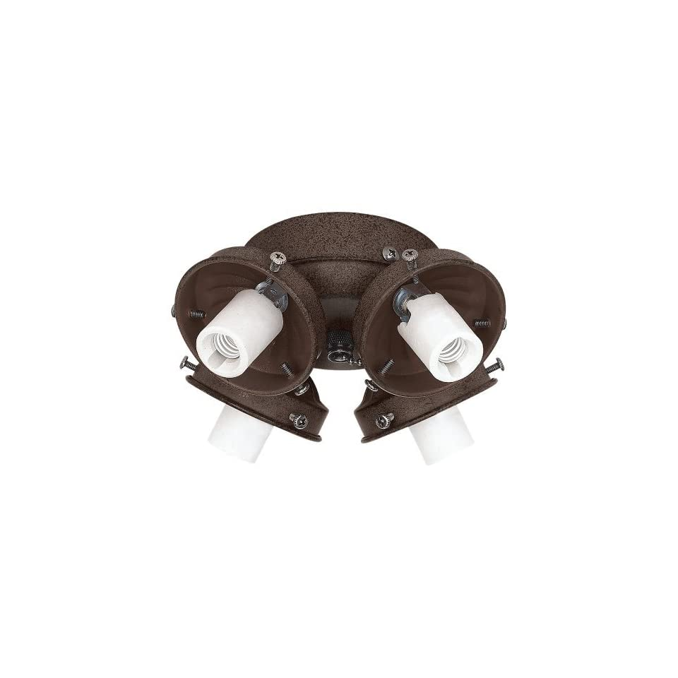 Sea Gull Lighting 16051 814 4 Light Ceiling Fan Light Kit, Misted Bronze