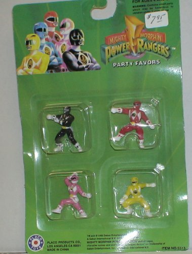 Mighty Morphin Power Rangers Party Favors - 1