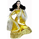 Big Deal India Design And Style Doll, Multi Color (Yellow)