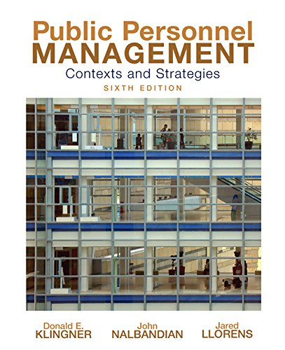 Download Public Personnel Management