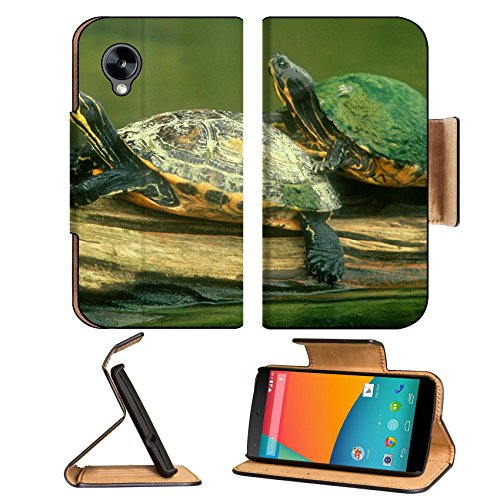 Animals Turtles Lovers Pool Pond Google Nexus 5 Hammerhead Lg Flip Case Stand Magnetic Cover Open Ports Customized Made To Order Support Ready Premium Deluxe Pu Leather 5 11/16 Inch (145Mm) X 2 15/16 Inch (75Mm) X 9/16 Inch (14Mm) Msd Nexus Cover Professi