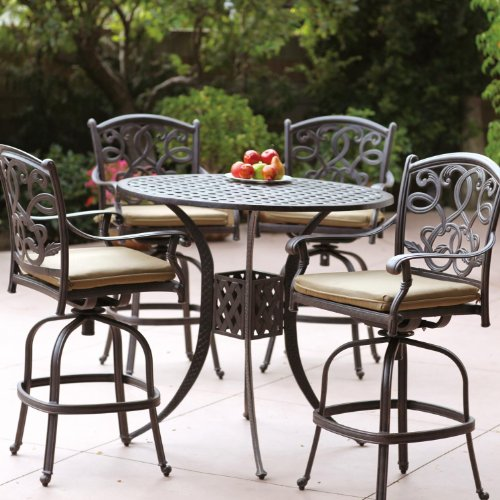 Cast Aluminum Outdoor Patio Bar Set-ecx.images-amazon.com
