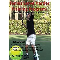 Tennis Serve Harder Training