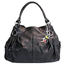 Hot Sale Large Charm Hobo Handbag (Black)