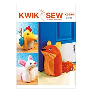 Kwik Sew Patterns K3994osz Door Stops Sewing Template One
