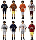 Lot 5 PCS Fashion Football Clothes/outfit for Barbie's Boy Friend Ken Doll