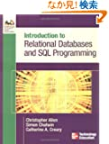 Introduction to Relational Databases & SQL Programming