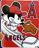 Los Angeles Angels Mickey Mouse Micro Raschel Throw Blanket at Amazon.com