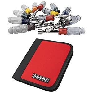 Craftsman 12 pc. Nutdriver Set in Zippered Case