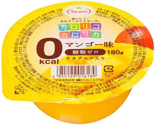 たらみ カロリコカロリカ 0kcal  マンゴー味  180g×6個