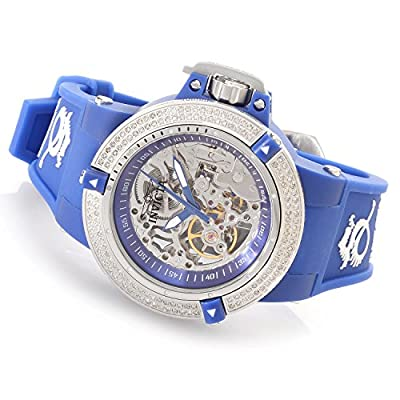 Invicta Womens Subaqua Noma III Anatomic Diamond Accented Seagull Mechanical Blue Watch 16769