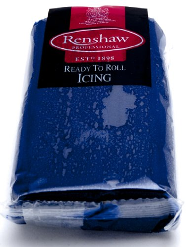 Ready to Roll Renshaws Icing - Navy 250g
