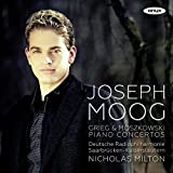 Grieg: Piano Concerto Op.16, Moszkowski: Piano Concerto Op.59