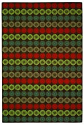 "Safavieh Martha Stewart 3'-9"" x 5'-9"" Mulberry Hand Hooked Wool Rug - MSR2368B-4"