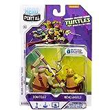 Teenage Mutant Ninja Turtles, héroe Portal Booster Pack, Donatello y Michelangelo, paquete de 2