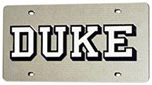 NCAA Duke Blue Devils License Plate Cover by Rico