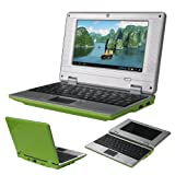 #8: Grne 17,78 cm Mini Android 4.1 Notebook Netbook mit wifi Via 8850 4gb