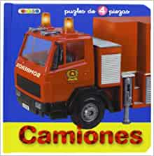 CAMIONES - LIBRO PUZZLE: 9788498064698: Amazon.com: Books