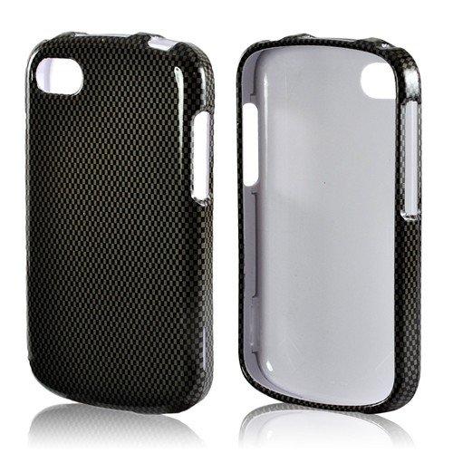Sale Dark Gray Carbon Fiber Blackberry Q10 Plastic Case
