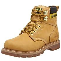 "Hot Sale Caterpillar Men's 2nd Shift 6"" Plain Soft Toe Boot,Honey,9.5 M US"