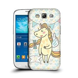 MobileGlaze Designs Unicorns from Dream Cute Unicorn Hard Back Case Cover for SAMSUNG GALAXY S3 NEO I9300I