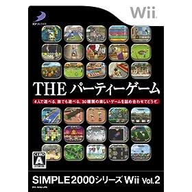 【クリックでお店のこの商品のページへ】SIMPLE 2000シリーズWii Vol.2 THE パーティーゲーム