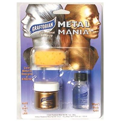Graftobian - Metal Mania Gold Makeup Kit
