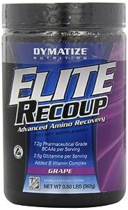 Dymatize Nutrition Elite Recoup, Grape, .76 lb Container