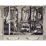 The Fellow Prentices at Their Loom, by William Hogarth (V&A Custom Print)